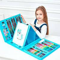Дитячий набір для малювання та творчості 208 предметів