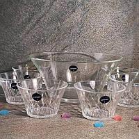 Набор стеклянных салатниц 7 предметов Luminarc Swivel 1+6шт (P9119), фото 1
