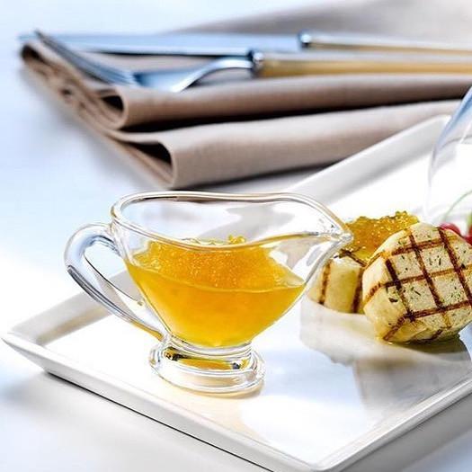 Соусниця скляна з носиком для меду Pasabahce Basic 60 мл (55002 / sl)