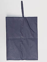 Чехол-сумка Ш 27*Д 38 см, темно-синего цвета для хранения и упаковки обуви, фото 2