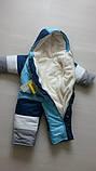 Детские зимние комбинезоны с отстегивающимся мехом оптом и в розницу, фото 5