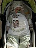 Дитячі зимові комбінезони з відстібними хутром оптом і в роздріб, фото 7