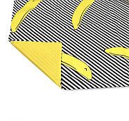 """Евро комплект (Бязь) постельного белья """"Королева Ночи""""   Постельное белье от производителя   Бананы на желтом, фото 4"""