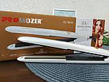 Прикорневое гофре Pro Mozer MZ-7061 Утюжок для волос щипцы, фото 3