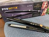 Прикорневое гофре Pro Mozer MZ-7061 Утюжок для волос щипцы, фото 10