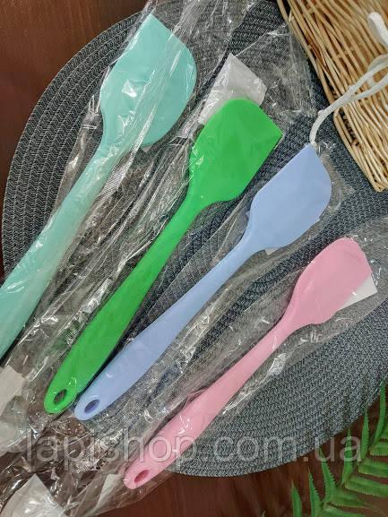 Лопатка кухонная силиконовая с силиконовой ручкой Stenson 27*5,5*1,8 см