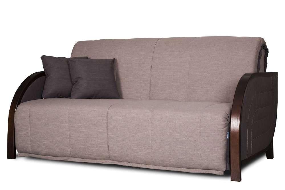 Бежевий диван-ліжко Аква акордеон ( від 0,7 м до 2 м в ширину ) Константа