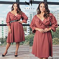 Красивое женское платье батал р.48-64  ST Style XL, фото 1