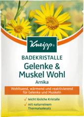 Kneipp Badesalz Gelenke & Muskel Wohl соль для ванной для суставов и мышц 60 г