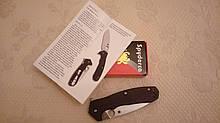 Складной нож Spyderco Amalgam Brian Lai Design CPM S30V, G10 with Red Fiber Layers C234CFP