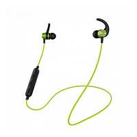 Навушники вакуумні безпровідні з мікрофоном Yison E14 Green