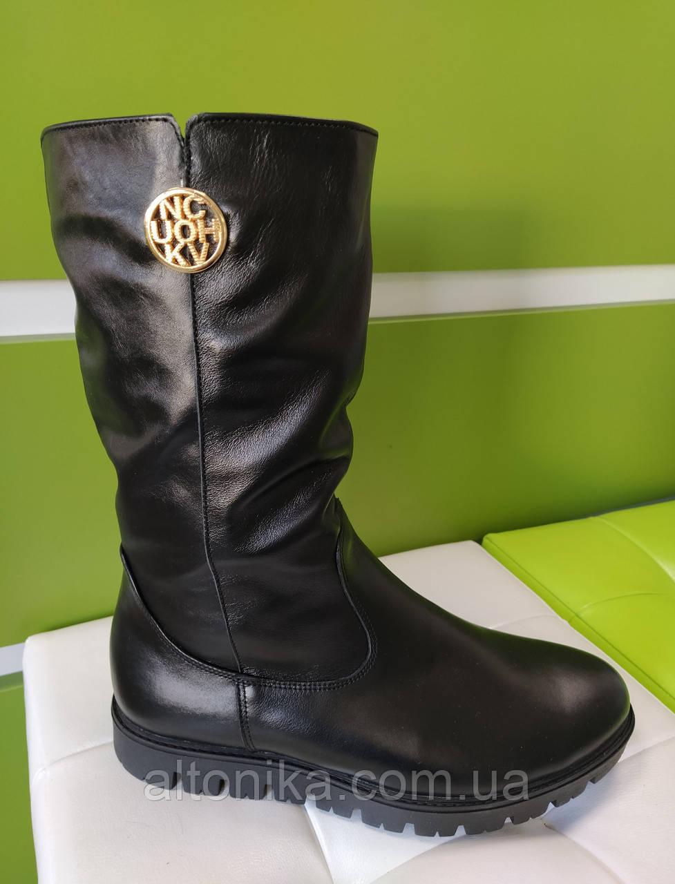 STTOPA 42р зима! Размеры 33-45! Сапоги кожаные больших размеров! С10-52-4045-35-3344