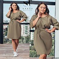 Красивое женское платье батал р.48-58  ST Style XL, фото 1