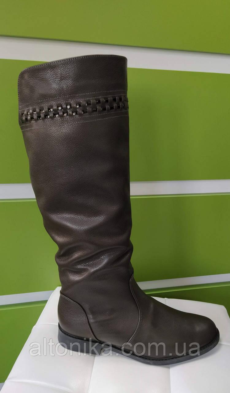 STTOPA 43р зима! Размеры 36-45! Сапоги кожаные больших размеров! С10-34-3643-3-3645--4339