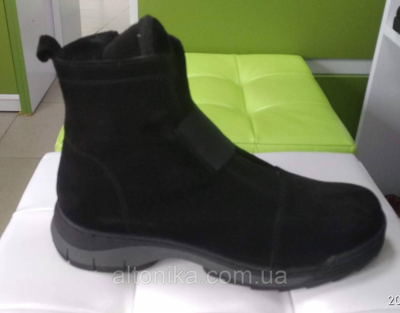STTOPA 43р зима! Размеры 41-43!Ботинки из натуральной кожи больших размеров! С9-47-4143-4-3343