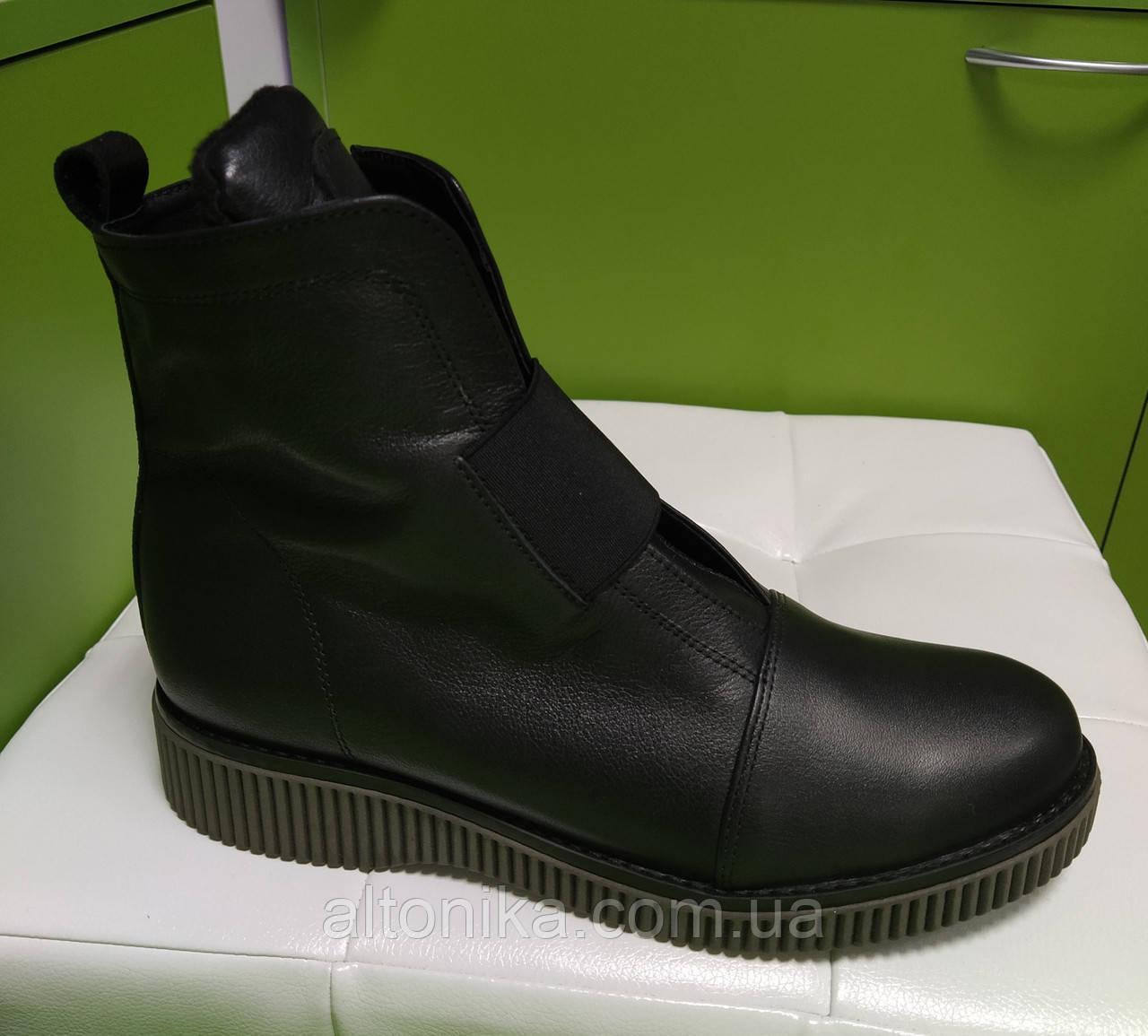 STTOPA 40р деми! Размеры 33-41!Ботинки из натуральной кожи больших размеров! С9-46-3641-35-3343