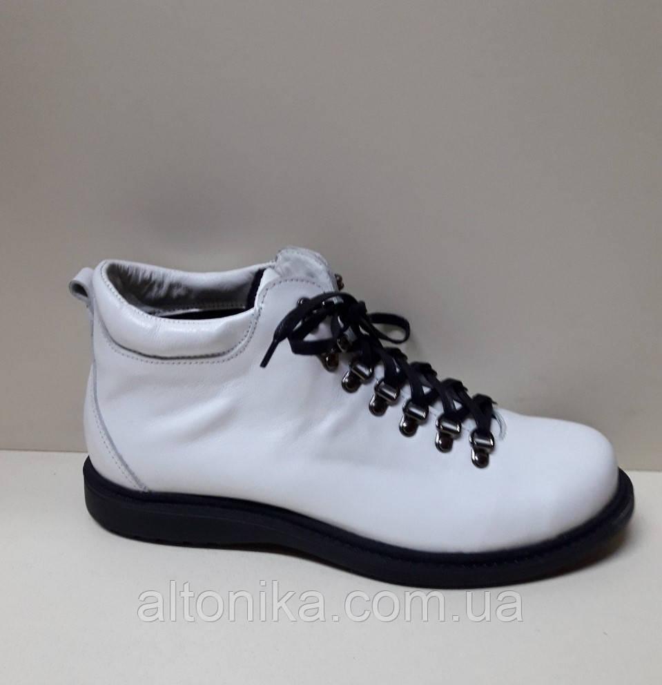 STTOPA деми зима. Размеры 41-42. Ботинки кожаные больших размеров! С9-29-4142-2-3643