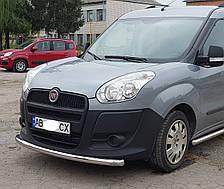 Кенгурятник одинарный ус на Fiat Doblo Nuovo 263 (c 2015--) Фиат Добло PRS