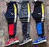 Мужские спортивные штаны Puma,ткань : турецкая двух нитка высокого качества,зауженные , резинка внизу (46-52)