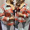 Женская рубашкасо спущенным рукавом,очень теплая, (ТУРЦИЯ) на пуговицах(хс-ххл)