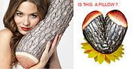 Рубрика обзор новинок представляет: подушка для путешествий в виде полена.