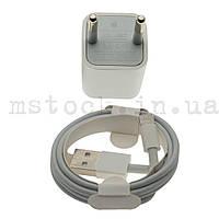 Зарядное устройство + кабель apple IPhone Lightning 5V 1A