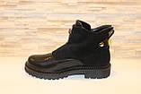 Ботинки женские черные Д666, фото 2
