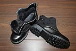 Ботинки женские черные Д666, фото 3