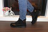 Ботинки женские черные Д666, фото 4