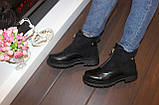Ботинки женские черные Д666, фото 5