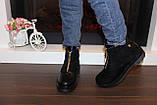 Ботинки женские черные Д666, фото 6