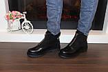 Ботинки женские черные Д666, фото 7