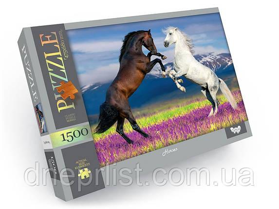 Пазл 1500 элементов / Кони (Horses), фото 2
