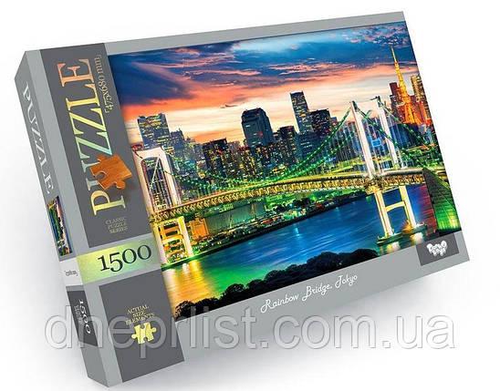 Пазл 1500 элементов / Мост в Токио (Rainbow Bridge, Tokyo), фото 2