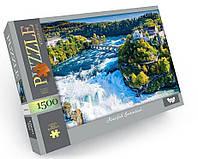 Пазл 1500 элементов / Водопад, Швейцария