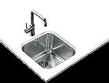 Квадратная кухонная мойка Тека BE 40.40 (25)  под столешницу 40*40, фото 2