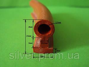 Термостойкий уплотнитель из силиконовой резины