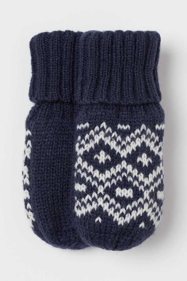 Дитячі теплі рукавиці на флісовій підкладці НМ для хлопчика
