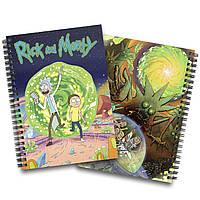 Блокнот Рик и Морти   Rick and Morty 01