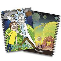 Блокнот Рик и Морти   Rick and Morty 03