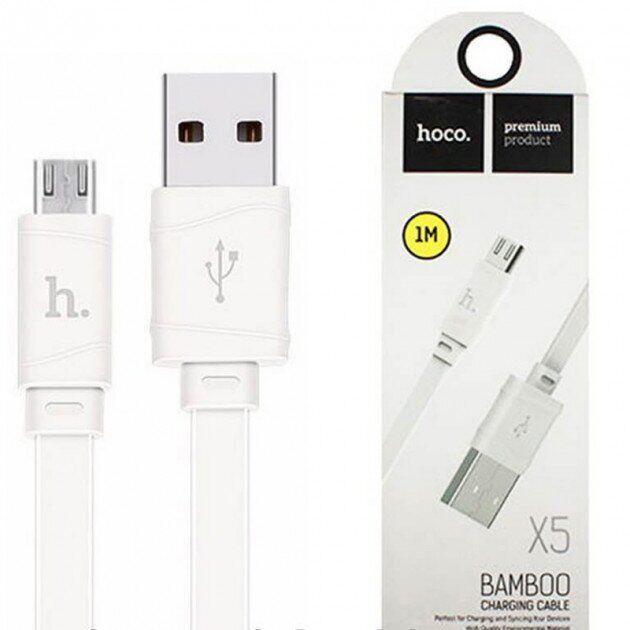 Кабель Micro HOCO 1м X5 Bamboo