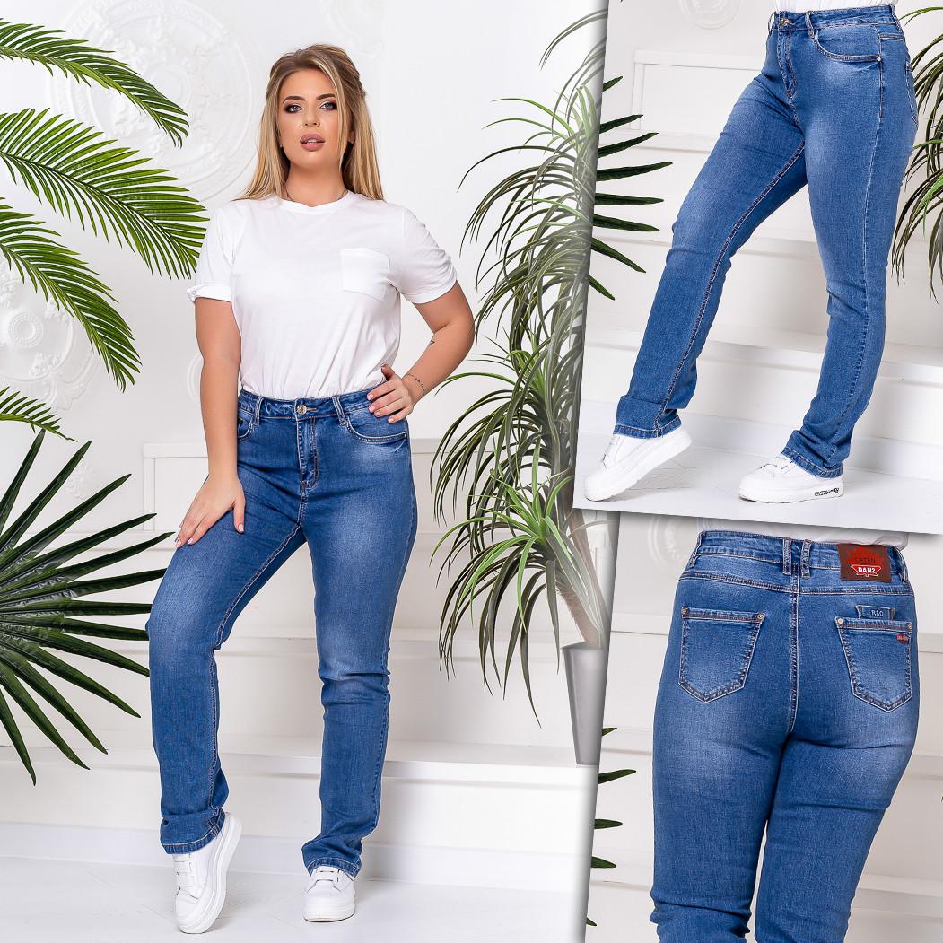 8239 Vanver джинсы женские батальные демисезонные стрейчевые (31-38, 6 ед.)