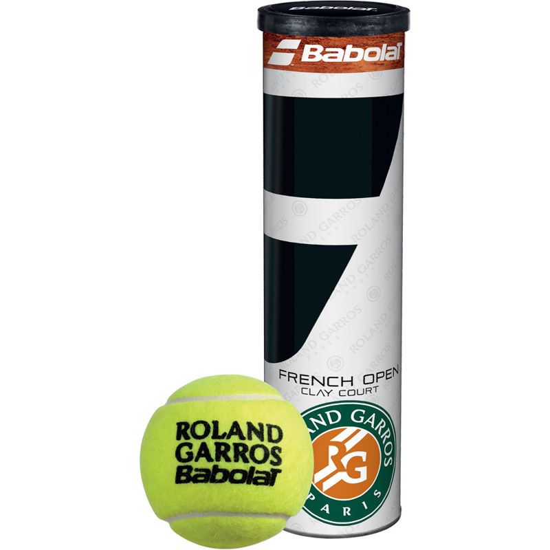 Теннисные мячи Babolat French Open Clay Court 4 ball (4495)
