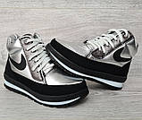 Современные женские зимние ботинки (БТ-6ср), фото 2