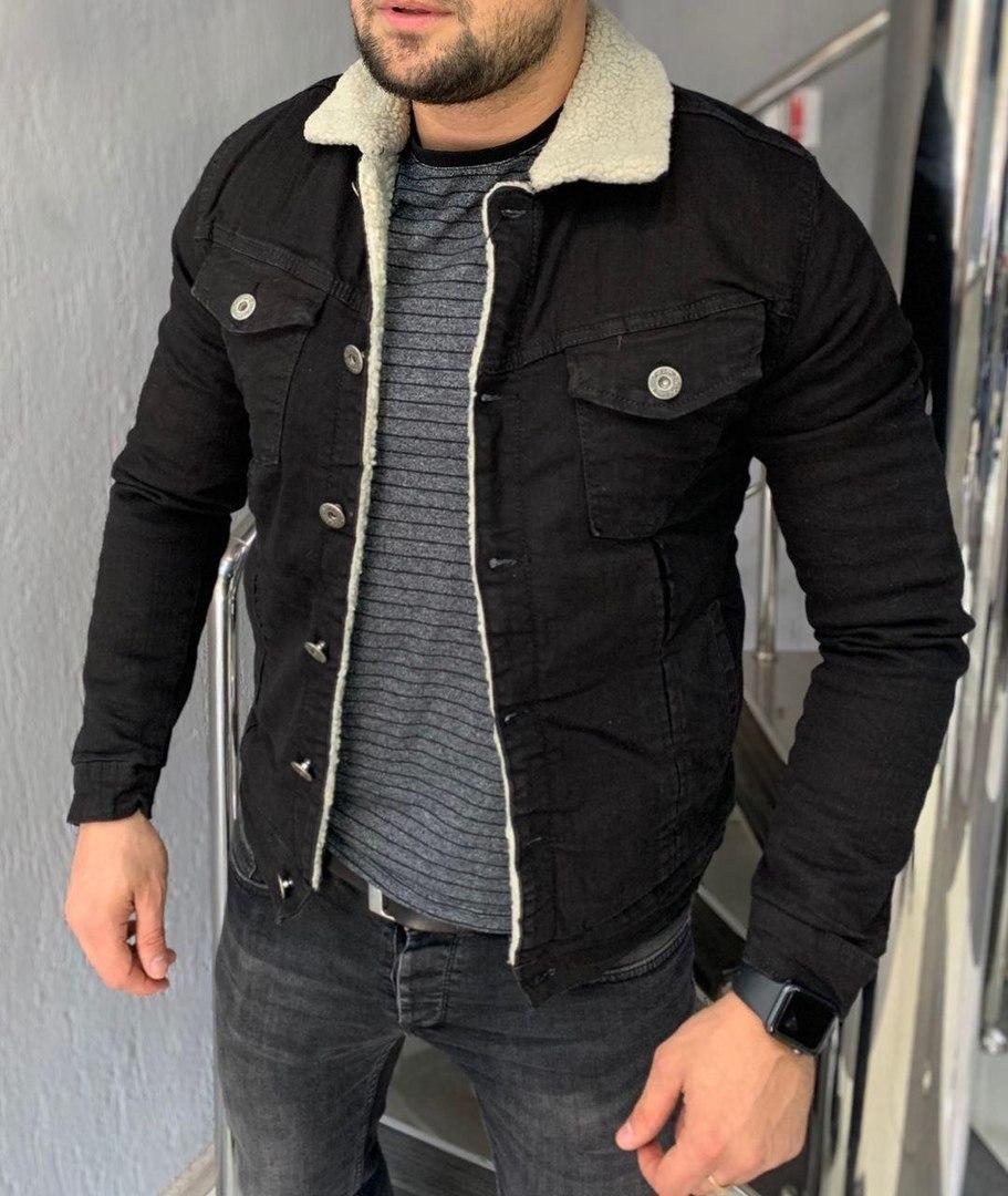 Мужская куртка стильная приталенная. Размеры: S M L маломерные.