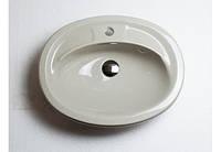 Раковина врезная Adamant COMFY beige-06 (ШхГхВ, мм. - 590х390х110)