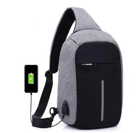 Bobby Mini Bag городской рюкзак-сумка / рюкзак через плечо Бобби мини, антивор, + USB, фото 2