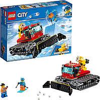 Конструктор лего сити 60222 Снегоуборочная машина LEGO City Snow Groomer