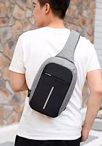 Bobby Mini Bag городской рюкзак-сумка / рюкзак через плечо Бобби мини, антивор, + USB, фото 3