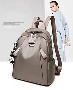 Женская сумка - рюкзак HiFlash Серая ✔